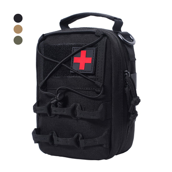 1000D Tactical First Aid Kits Bag EMT Pouch Emergency Military Medical Utility Bag Outdoor Molle Survival Pouch for Hunting my days tactical ifak first aid bag molle emt rip away medical military utility pouch rescue package for travel hunting hiking