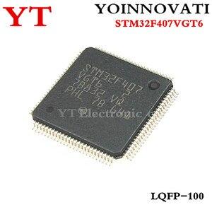 1 sztuk/partia STM32F407VGT6 STM32F407 STM32F407V 100LQFP najwyższej jakości.