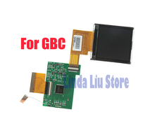 GBC NGPC 높은 빛 수정 키트에 대 한 1 대/몫 GBC NGPC 콘솔에 대 한 백라이트 LCD 화면 LCD 화면 빛 게임 액세서리