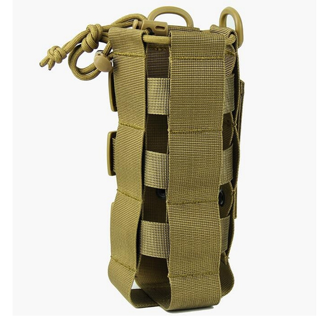 2020 New Tactical Molle Water Bottle Pouch Oxford Military Canteen Cover Holster Outdoor Travel Kettle Bag With Molle System 6