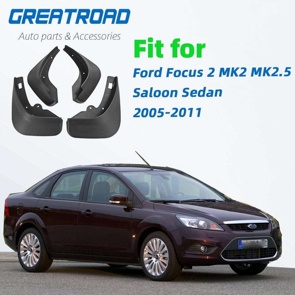 Mud Flaps Splash Guard Fender Car Mudguard Fit for Ford Focus Sedan 15-18