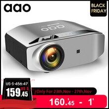 AAO Естественное разрешение 1080p Full HD проектор YG620 LED проектор 1920x1080P 3D домашний кинотеатр YG621 беспроводной WiFi Multi Screen проектор для дома