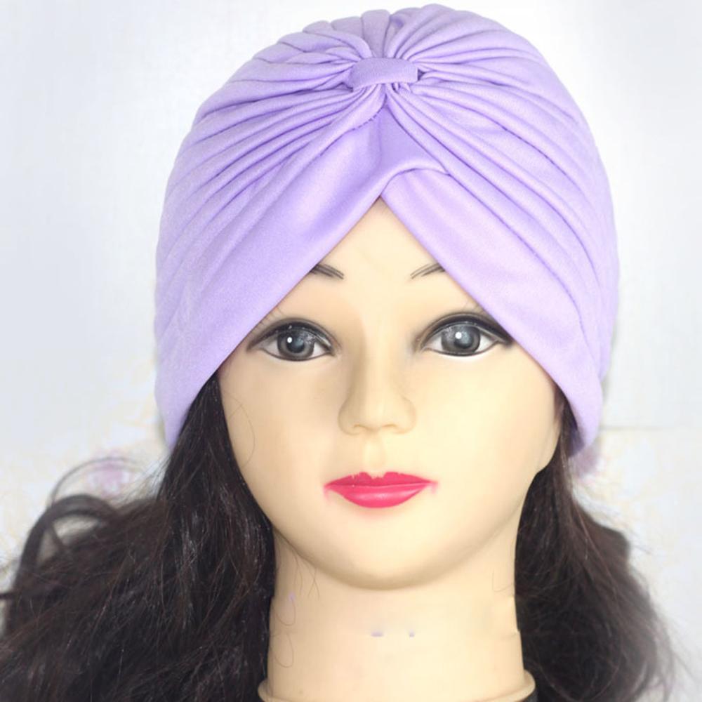 Хиджаб шарф тюрбан шапка s мусульманский головной платок Защита от солнца Кепка Женская хлопковая мусульманская многофункциональная тюрбан платок femme musulman - Цвет: 21