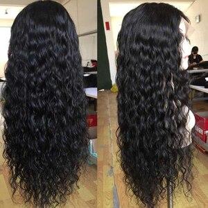 Image 2 - Парики из натуральных волос на фронтальной основе, 360