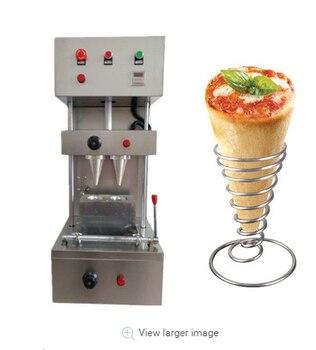 10% de descuento, máquina para hacer pizza de cono, máquina para pizza, máquina para procesamiento de pizza con certificado CE ISO