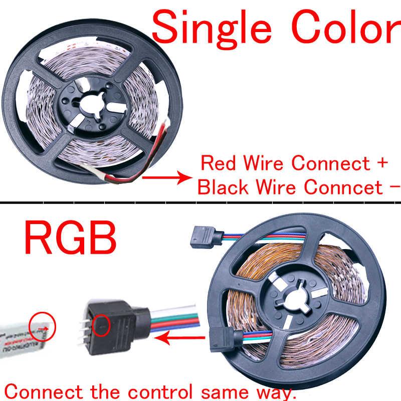 מיעון led הרצועה גמיש אור קלטת 12v עמיד למים חם לבן אדום 2835 5630 5730 60 120 240 LED הרצועה חלום צבע לבן