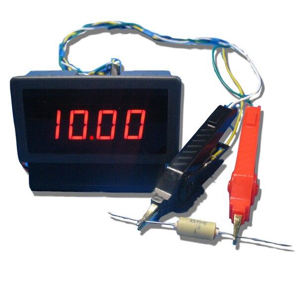 Digital DC Milliohmeter Head Range 20 Ohms Low Resistance Tester Ohmmeter Resolution 10 Milliohms
