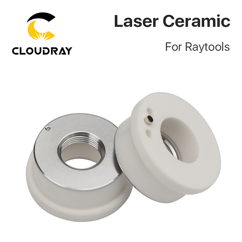 Cloudray Laser Keramiek 32mm / 28.5mm OEM Raytools Lasermech Bodor - Onderdelen voor houtbewerkingsmachines - Foto 5