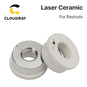 Image 5 - Cloudray Laser Ceramic 32mm/ 28.5mm OEM Raytools Lasermech Bodor Nozzle Holder For Fiber Laser Cutting Head