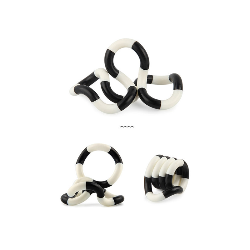 Toy Deformation-Rope Stress Fidget Adult Kids Child Colorful Twist Play Perfect img5