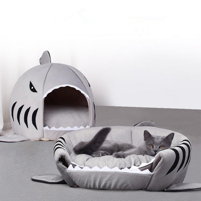 Прямая поставка, мягкая подушка для питомца, кошки, собаки, дома, акулы для больших тент для собак, высокое качество, хлопок, маленький спальн...
