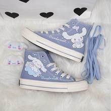 2021 Spring Autumn Original Laurel Dog High Top Canvas Shoes Japanese Female Harajuku Style Woman Student Canvas Shoes Women