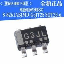 10 PÇS/LOTE S-8261ABJMD-G3JT2S SOT23-6 G3J IC novo original em estoque