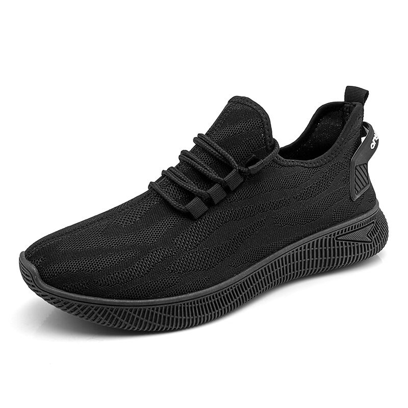 Vulcanized Shoes for Men 2019 Mesh New Men Sneakers Lace Up Low Top Jogging Shoes Man Loafer Footwear Breathable Air...