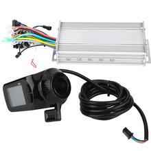 Контроллер для электрического велосипеда 24/36/48/60V 1000W контроллер электровелосипеда с водонепроницаемый ЖК-дисплей с бесщеточным двигателем E-велосипедный контроллер