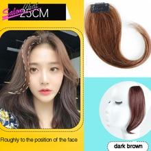 Salonchat, 4 вида цветов волосы на заколках, челка, шиньон, Реми человеческие волосы, челка, волосы на заколках для наращивания, человеческие волосы на заколках