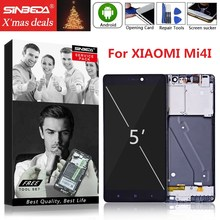 купить 5.0 For XIAOMI Mi 4i LCD Digitizer Touch Screen with Frame Assembly Replacement For Xiaomi Mi4i LCD Display MI 4i Display дешево