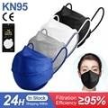 4D Mascarilla FPP2 одобренный маска CE KN95 маски для лица 4 Слоя Маски Рот многоразовые kn95 взрослых защитный ffp2mask маска Masken