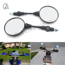 ACZ Universal Motorcycle ATV Off-Road Folding Rearview Mirror For SUZUKI DR250 DR200 DR350 DR-Z400 DR650 DL650 DL1000