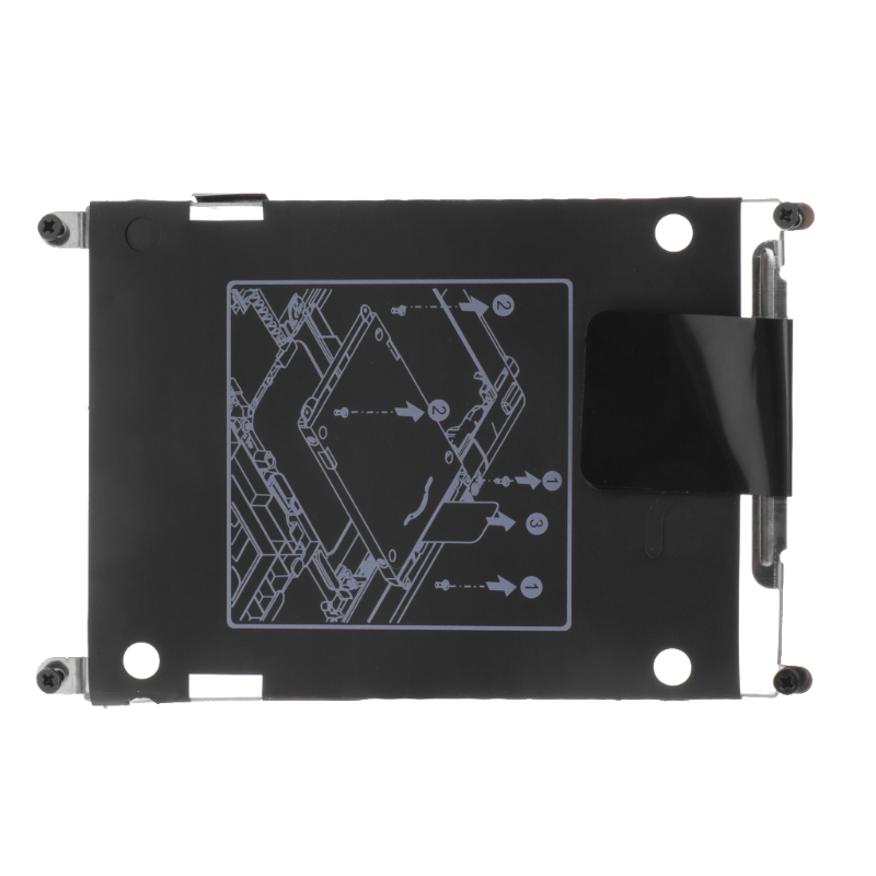New Hard Drive Disk Bracket Caddy With Screws For HP EliteBook 2560P 2570P