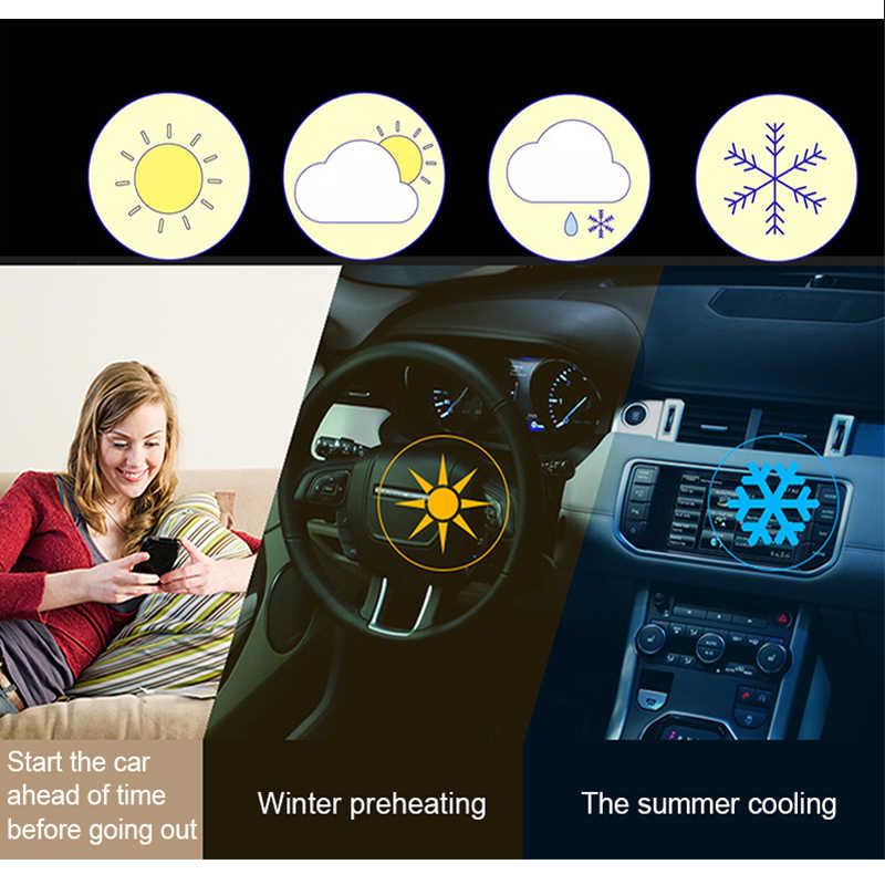 PKE zdalny silnik samochodowy Start samochodowe systemy alarmowe zamek drzwi szeryf System dostępu bezkluczykowy Offline aplikacja na smartfona przycisk centralny zamek