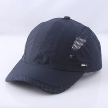 Lightweight Breathable Sports Mesh Cap Baseball Style Men's Running Hats Summer Jogging Hiking Khaki Grey Navy Unstructured