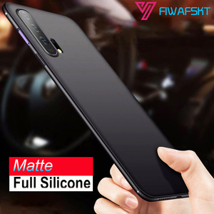 Soft Silicone Cover Cases For Huawei Honor 20 Pro 10i 8X 8A 8S 8C 9X Pro Honor 10 Lite Case Fashion Thin Slim Matte Phone Cases(China)