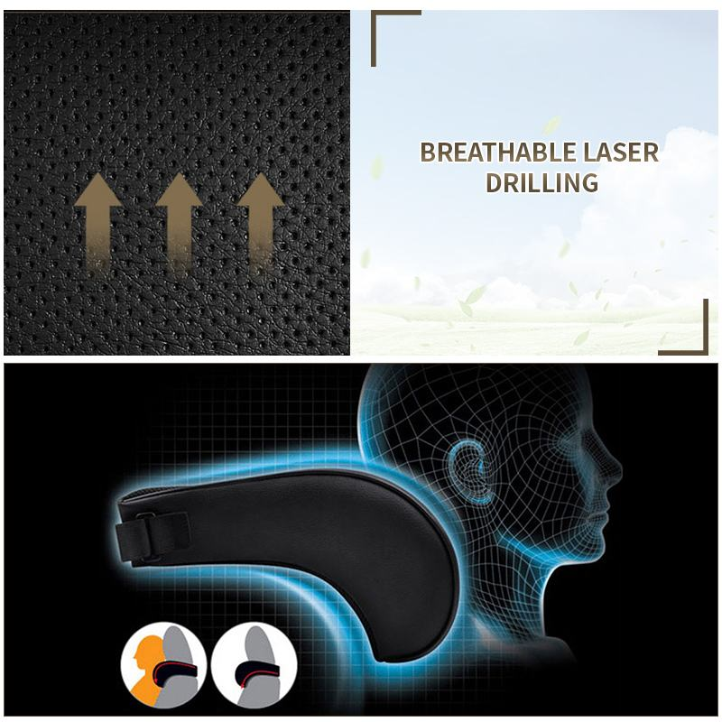 Adjustable Elastic Memory Foam Car Headrest