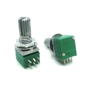5 шт. RK097G 1K 5K 10K 20K 50K 100K 500K B1K B5K B10K B100K с переключателем звука 6 контактный вал 15 мм усилитель, герметичный потенциометр|Потенциометры|   | АлиЭкспресс