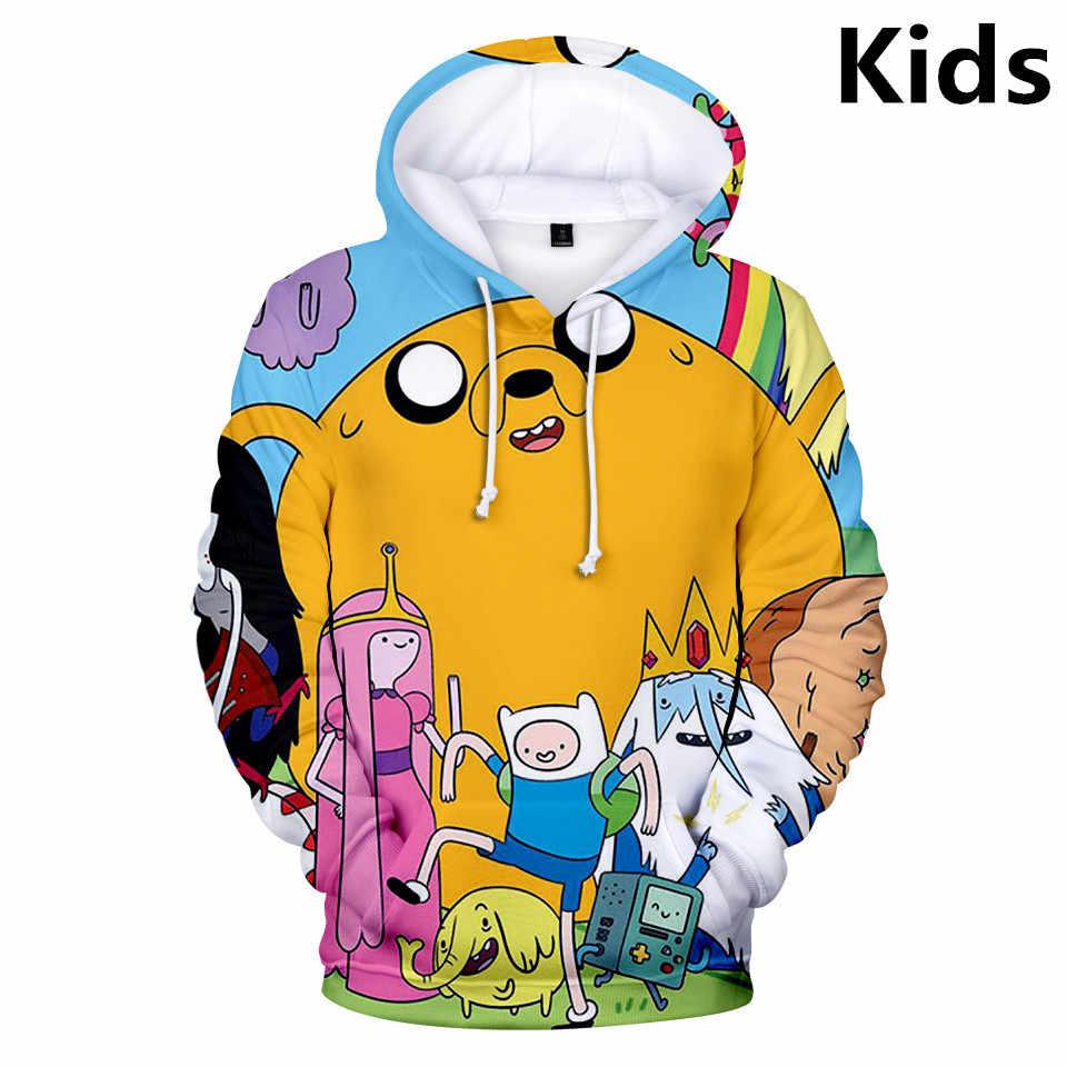 Jungen Mädchen Kinder Karikatur Tier Kapuzenpullover 3D Hoodie Sweatshirt Jacke