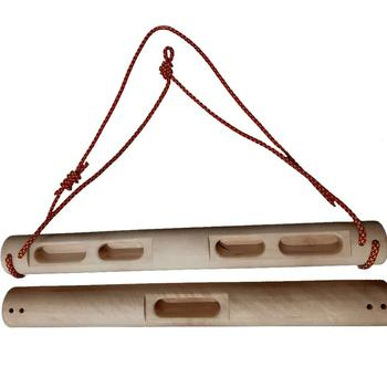 Climbing Board, Mobile Rock Climbing Training Board Finger Strength Training with Rope Portable Slope Training 2pcs indoor cheap rock climbing hang finger strength training beech wood hangboard for rock climbing lover