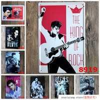 Elvis Presley ! 20*30cm Garage Vintage Tin Signs Retro Metal Sign The Wall Decor