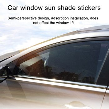 Car Side Window Sun Portecti0n Film Car Window Foils Tint Tinting Film Roll Car Home Glass Summer UV Protector Sticker Films New image