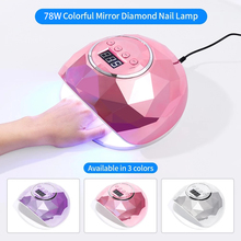 Nail-Lamp Gel-Nail-Dryer Manicure-Tools Auto-Sensor Uv Led Colorful 9 for 78W