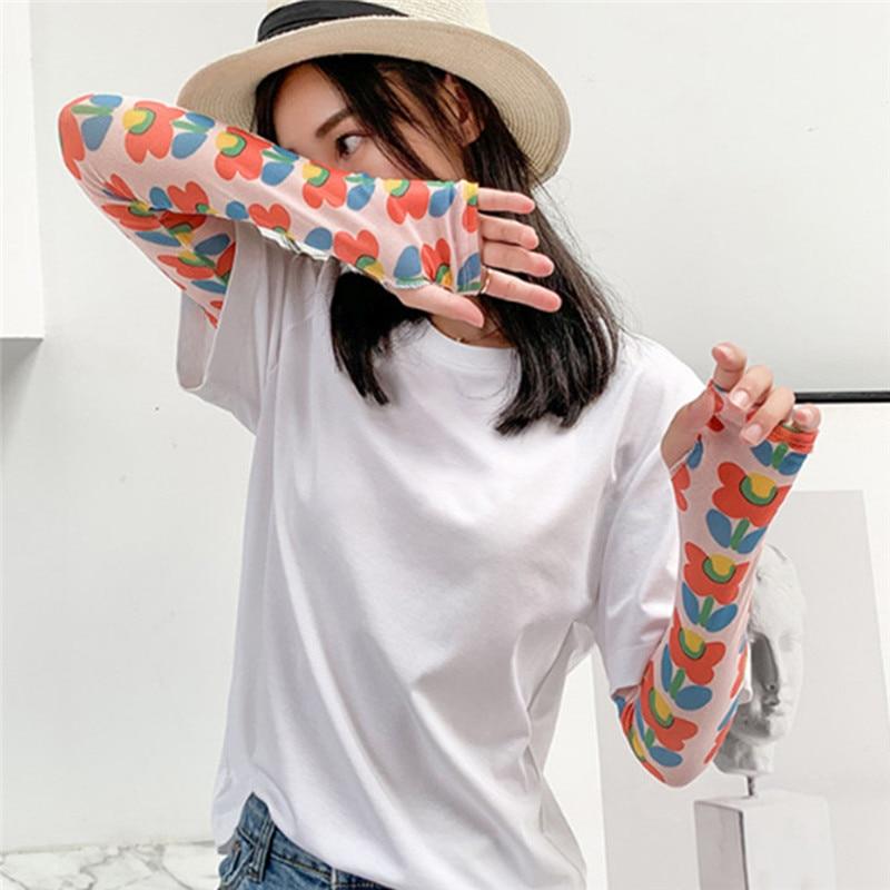 Summer Ice Sleeve Sunscreen Fashion Women's Armband Arm Sleeve Men's Sleeve Drive UV Protection Apparel Accessories