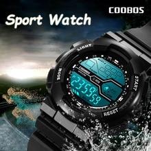 Trend Men's Sports Digital Watch Military Waterproof Mens