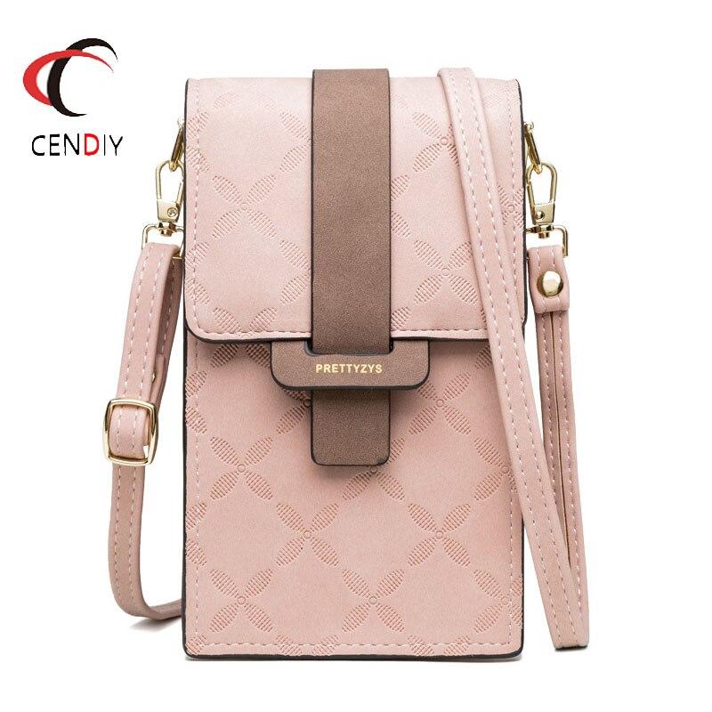 Fashion Brand Wallet Women Mini Shoulder Bags Female Chain Mobile Phone Bag Ladies Small Clutch Messenger Bag For Women 2019