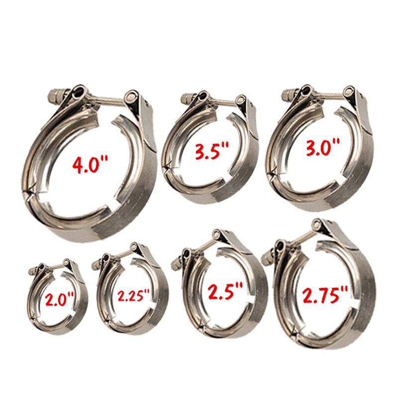ZUCZUG от 1,5 дюйма до 6,0 дюйма SS304 антикоррозийный термостойкий вытяжной V-образный зажим