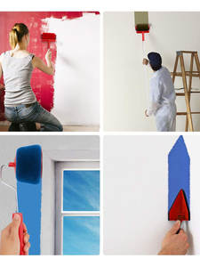 Paint-Roller Home 9pcs for Building No-Seam