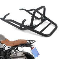 For BMW R NINE T R NINET R9T R 9 T 9T Pure Racer Scrambler 2014 2018 Motorcycle Rear Seat Luggage Carrier Rack with Handle Grip