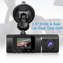 Blueskysea Dual Lens Car Dash Cam 500 Pixels 1.5 170° FHD DVR 1080P H190 Camera G-Sensor Parking Monitoring
