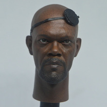 In Stock 1/6 Scale Male Figure Accessory One-eyed Nick Fury 2.0 Head Sculpt Carved With Blindfold Model for 12'' Body 1 6 scale toy head sculpt donnie yen yip man 3 fit 12 hottoy figure toys in stock