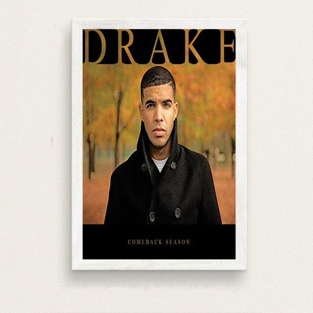 Drake Rap Hip Hop Music Singer Star Album Cover Star Hot Poster K-1165