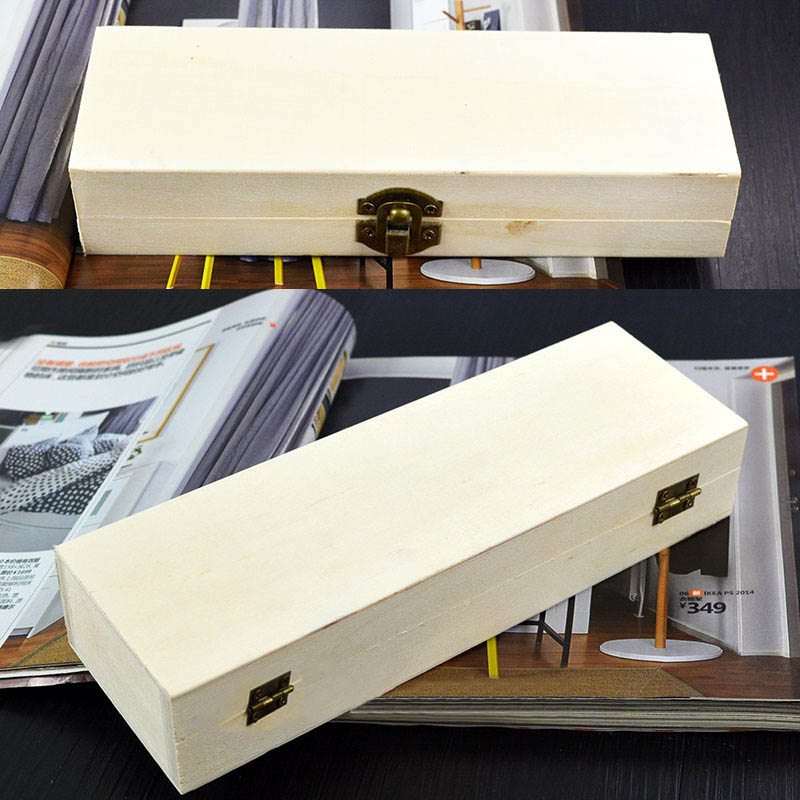Handmade Craft Wooden Box Gift Packing 1Pcs Vintage Jewelry Case Multifunction Home Storage Boxes Square Rectangle Round