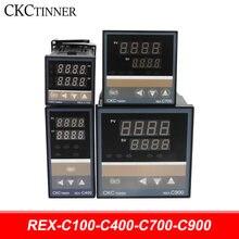Contrôleur de température industriel intelligent numérique PID RKC, relais 220V, Thermostat, sortie relais SSR