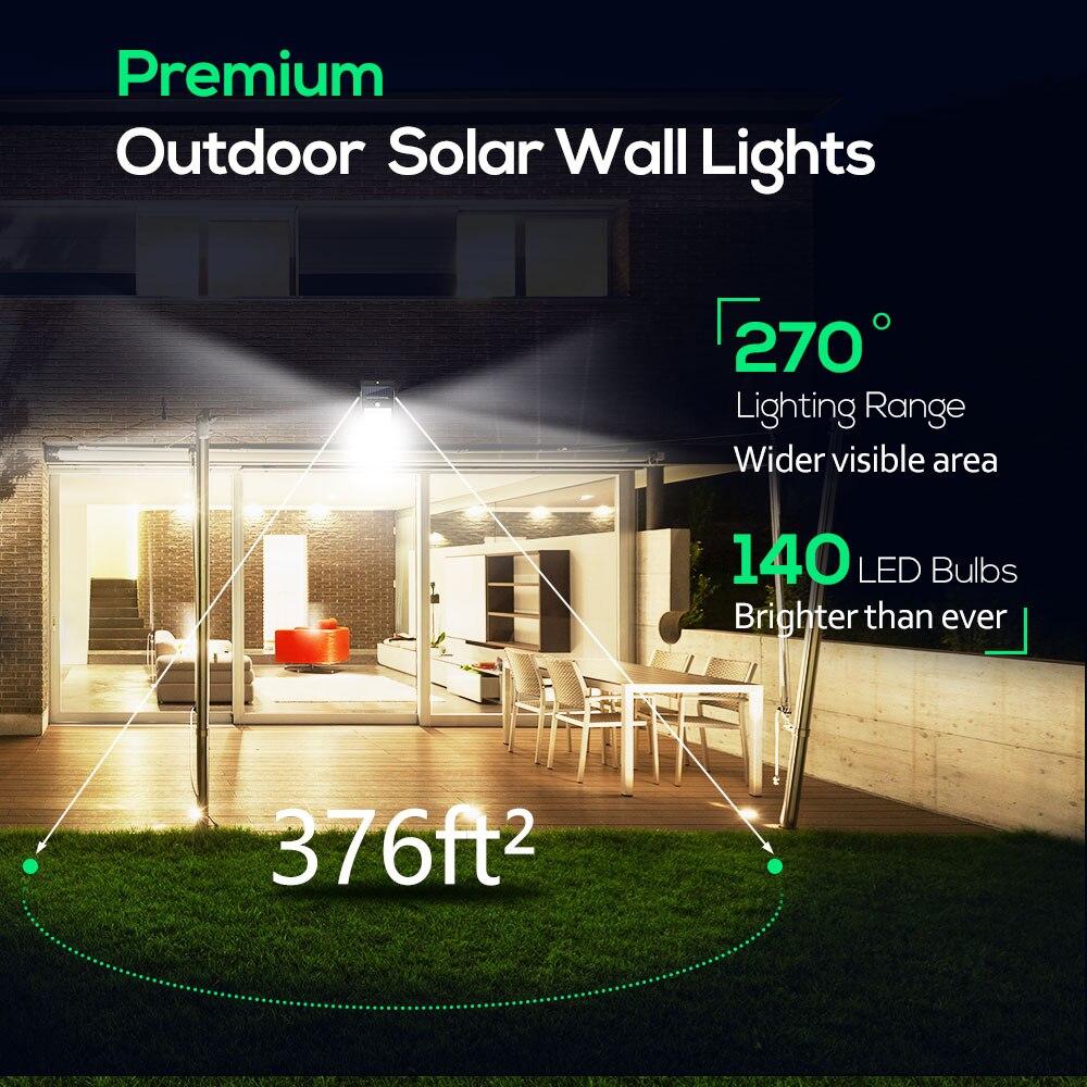 ip65 da energia solar do sensor de 03