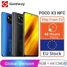 Versión Global Xiaomi POCO X3 NFC 6GB RAM 64GB / 128GB ROM Teléfono móvil Snapdragon 732G 64MP Quad cámara 6,67