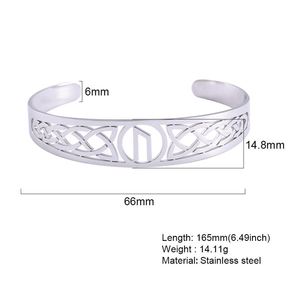 Bracelet Celtic symbole acier inoxydable 5