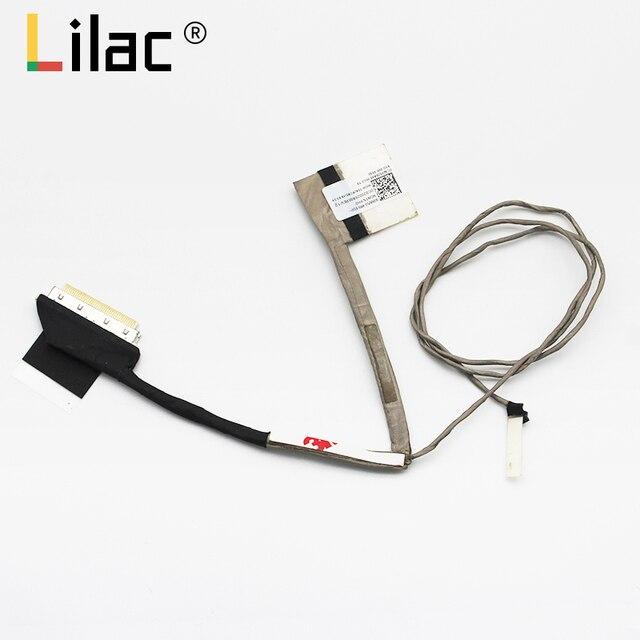 Tela de vídeo cabo flexível para hp envy 15t-ae 15t-ae000 abw50 no toque fhd portátil lcd led lvds cabo 812675-001 dc020026a00