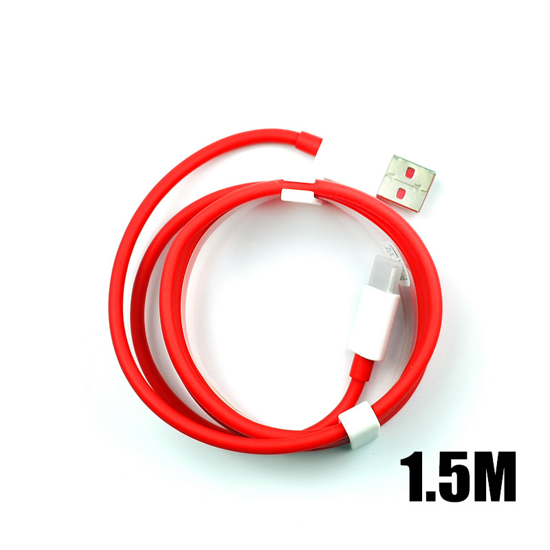 Image 5 - Original 35CM/100cm/150cm Red 4A Usb 3.1 Type C Oneplus 6 Dash Charger Cable For One Plus 7 pro 6T 5t 5 3t 3 Mobile Phone-in Mobile Phone Cables from Cellphones & Telecommunications on